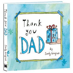Thank You Dad by Sandy Gingras, 9781416246121
