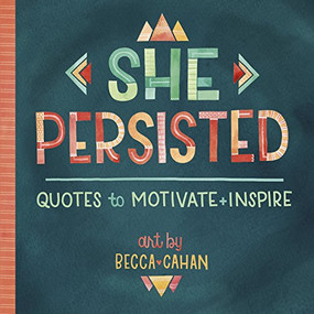She Persisted - 9781416246664 by Becca Cahan / artist, 9781416246664