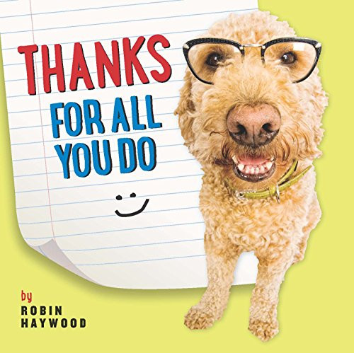 Thanks For All You Do by Robin Haywood, 9781416245476