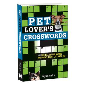 Pet Lover's Crosswords by Myles Mellor, 9781416246626