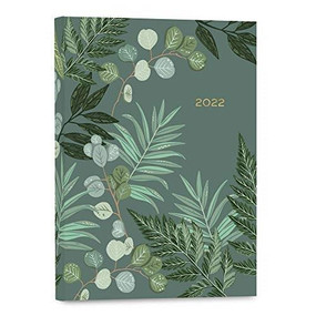 2022 Greenery Softcover Planner by Caroline Alfreds, 9781531914301