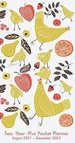 Cheerful Hens 2022 Two-Year-Plus Monthly Pocket Planner: August 2021 - December 2023 by Sellers Publishing, Inc., 9781531913939