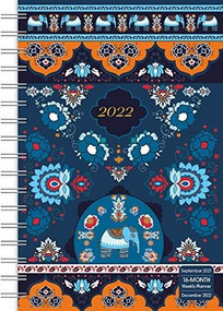 Elephant Designer 2022 Weekly Planner 16-Month: September 2021 - December 2022 by Sellers Publishing, Inc., 9781531913403