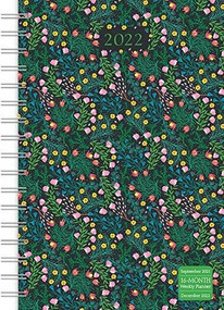 Wildflowers Designer 2022 Weekly Planner 16-Month: September 2021 - December 2022 by Sellers Publishing, Inc., 9781531913427