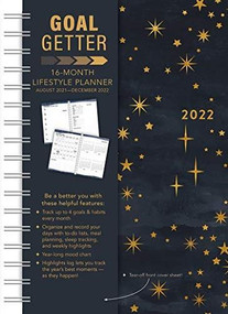 Starry Night Goal Getter 2022 Weekly Planner 16-Month: September 2021 - December 2022 by Sellers Publishing, Inc., 9781531913397