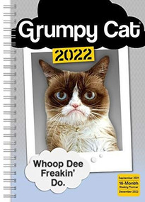 Grumpy Cat® Classic Weekly 2022 Planner 16-Month: September 2021 - December 2022 by Grumpy Cat Limitied, 9781531913311