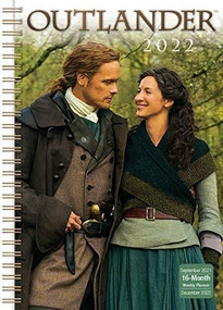 Outlander Classic Weekly 2022 Planner 16-Month: September 2021 - December 2022 by Starz, 9781531913328