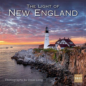 The Light of New England - Photography by Dave Long 2022 Wall Calendar 16-month by Long, Dave, 9781531912529