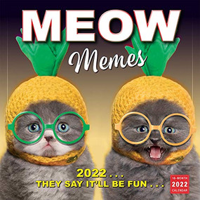 Meow Memes 2022 Wall Calendar 16-month by Sellers Publishing, Inc., 9781531912840