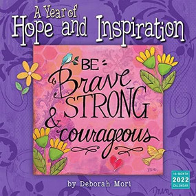 A Year of Hope and Inspiration 2022 Wall Calendar 16-month by Mori, Deb, 9781531912826