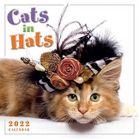 Cats in Hats 2022 Mini Calendar by Sellers Publishing, Inc., 9781531913106
