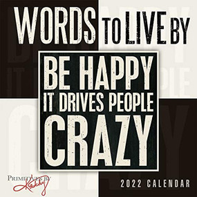 Words to Live By 2022 Mini Calendar by Phillips, Kathy/Primitives by Kathy, 9781531913243