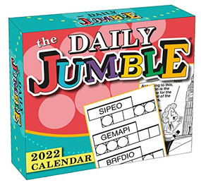 The Daily Jumble® 2022 Boxed Daily Calendar by Tribune Content Agency, 9781531913496