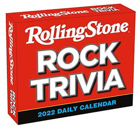 Rolling Stone Rock Trivia 2022 Boxed Daily Calendar by Rolling Stone LLC, 9781531913625