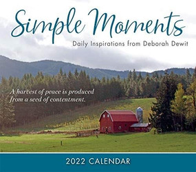 Simple Moments: Daily Inspirations from Deborah DeWit 2022 Boxed Daily Calendar by DeWit, Deborah, 9781531913663