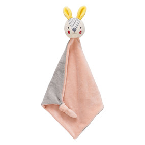 Organic Blankie Baby Bunny by Petit Collage, 0736313544985