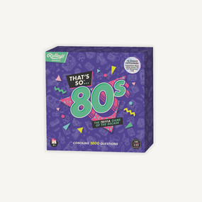 Quiz That's So 80s US by Ridley's, 5055923752043