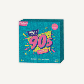 Quiz That's So 90s US by Ridley's, 5055923752050