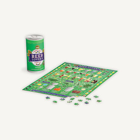 Jigsaw Puz 500pc Beer Lover's by Ridley's, 5055923773093