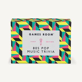 80s Pop Music Trivia by Games Room, 5055923712610