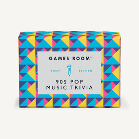 90s Pop Music Trivia by Games Room, 5055923712627