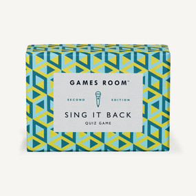 Sing It Back Quiz Game by Games Room, 5055923702338