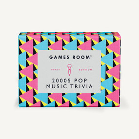 2000s Pop Music Trivia by Games Room, 5055923753446