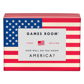 How Well Do You Know America? by Games Room, 5055923747063
