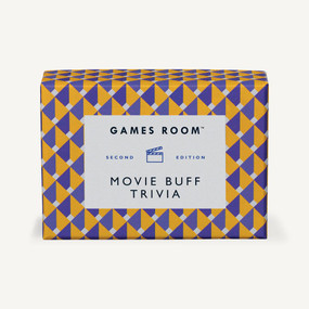 Movie Buff Trivia by Games Room, 5055923711286