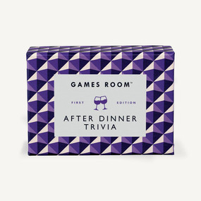 After Dinner Trivia by Games Room, 5055923747087