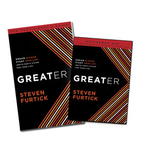 Greater Participant's Guide (DVD) (Dream bigger. Start smaller. Ignite God's Vision for Your Life) by Steven Furtick, 9781601424532