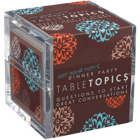 TABLETOPICS NOT YOUR MOM'S DINNER PARTY, TT-0115-A
