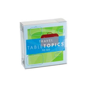 TABLETOPICS TO GO TRAVEL, TG-0209-A