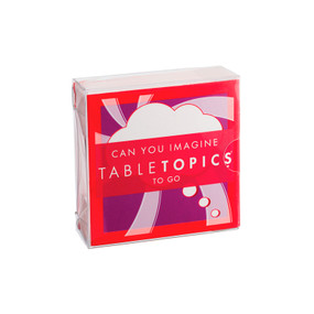 TABLETOPICS TO GO CAN YOU IMAGINE, TG-0237-A