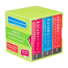 TABLETOPICS FAMILY CONVERSATION PACK, TG-0242-A