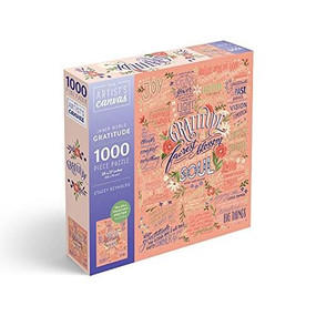 Gratitude Jigsaw Puzzle 1000-Piece Puzzle and Poster by Insights, 9781682986677