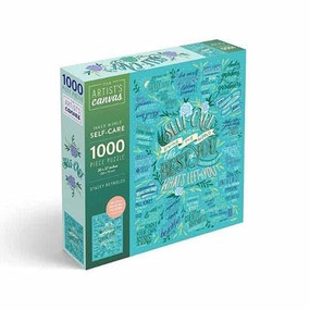 Self-Care Jigsaw Puzzle 1000-Piece Puzzle and Poster by Insight Editions, 9781682986752
