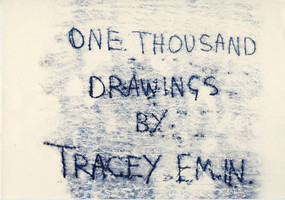 One Thousand Drawings by Tracey Emin, 9780847832026