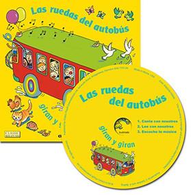 Las ruedas del autobús giran y giran - 9781786283993 by Annie Kubler, 9781786283993