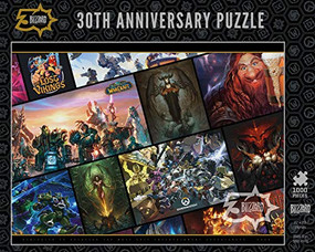 Blizzard 30th Anniversary Puzzle by Blizzard Entertainment, 9781950366699