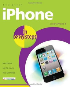 iPhone in easy steps: Covers iPhone 4 by Drew Provan, 9781840784152