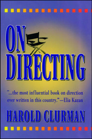On Directing by Harold Clurman, 9780684826226