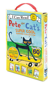 Pete the Cat's Super Cool Reading Collection (5 I Can Read Favorites!) by James Dean, James Dean, Kimberly Dean, 9780062304247