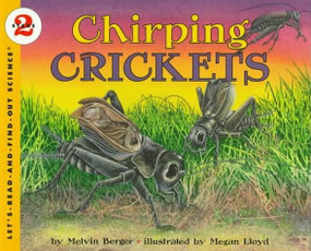 Chirping Crickets by Melvin Berger, Megan Lloyd, 9780064451802