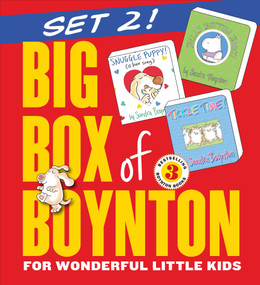 Big Box of Boynton Set 2! (Snuggle Puppy! Belly Button Book! Tickle Time!) by Sandra Boynton, 9780761180951