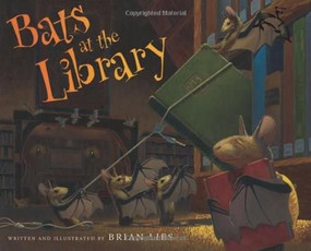 Bats at the Library by Brian Lies, 9780618999231