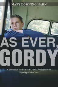 As Ever, Gordy by Mary Downing Hahn, 9780547549552