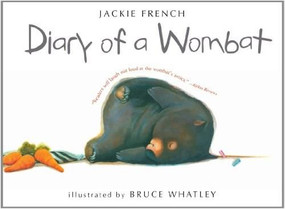 Diary of a Wombat by Jackie French, Bruce Whatley, 9780547076690