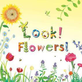Look! Flowers! by Stephanie Calmenson, Puy Pinillos, 9781499801156