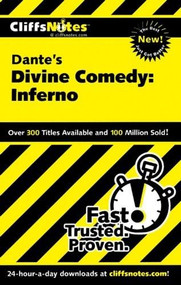 CliffsNotes on Dante's Divine Comedy-I Inferno by Nikki Moustaki, James L. Roberts, 9780764586545